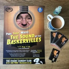 DOUBLE SIDED! The Sound of The Baskervilles/WYDIA 2019 Poster: design by Rob Ellis, photography by Andy Hollingworth