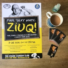 DOUBLE SIDED Ziuq/SSCS 2018 Poster: design by Rob Ellis, photography by Andy Hollingworth